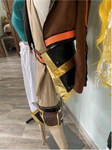 Belt Bag attached on dress form